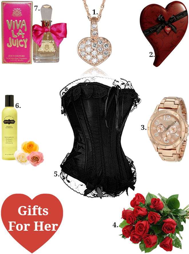 Romantic valentine day gifts for her khaleej mag for Gifts for her valentines day